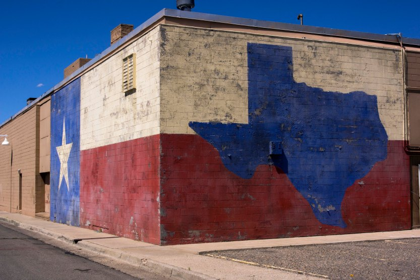Albuquerque Red White Blue Texas broad