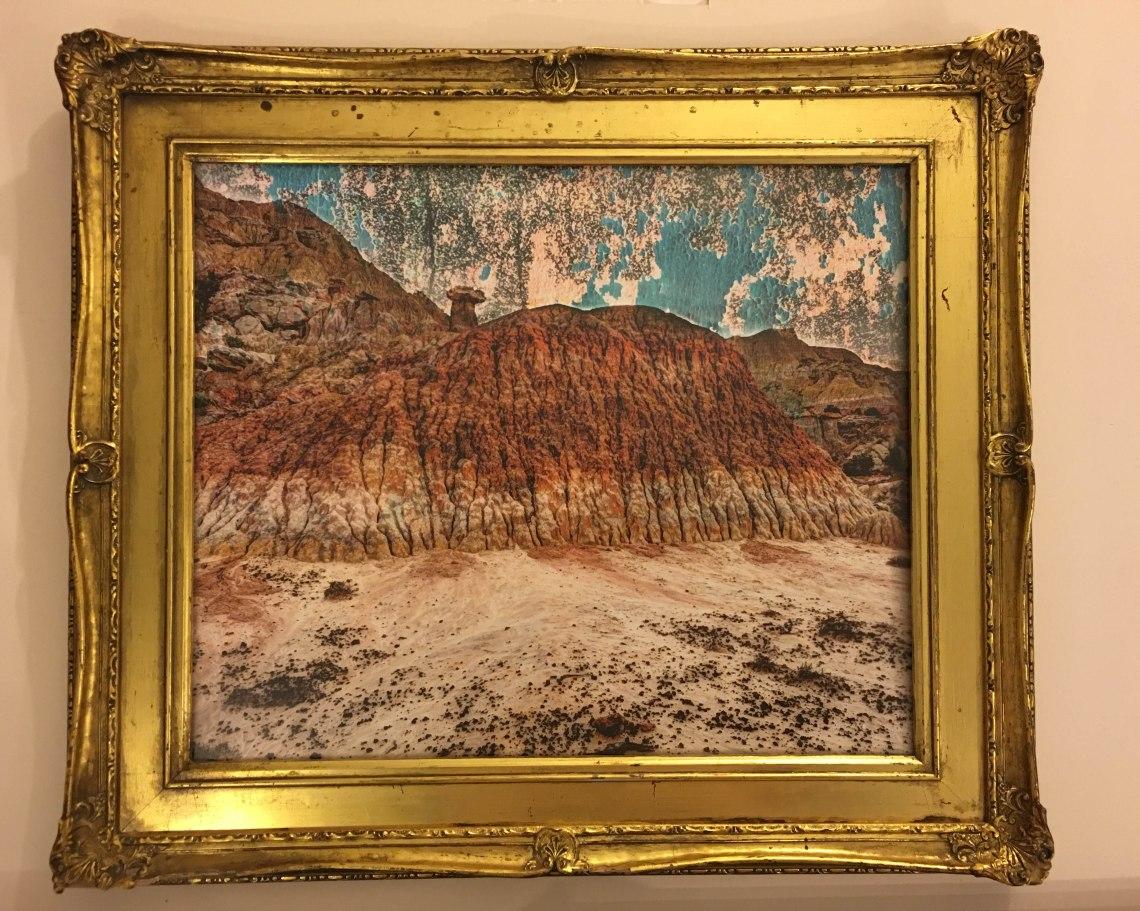 San Juan Badlands in Found Frame
