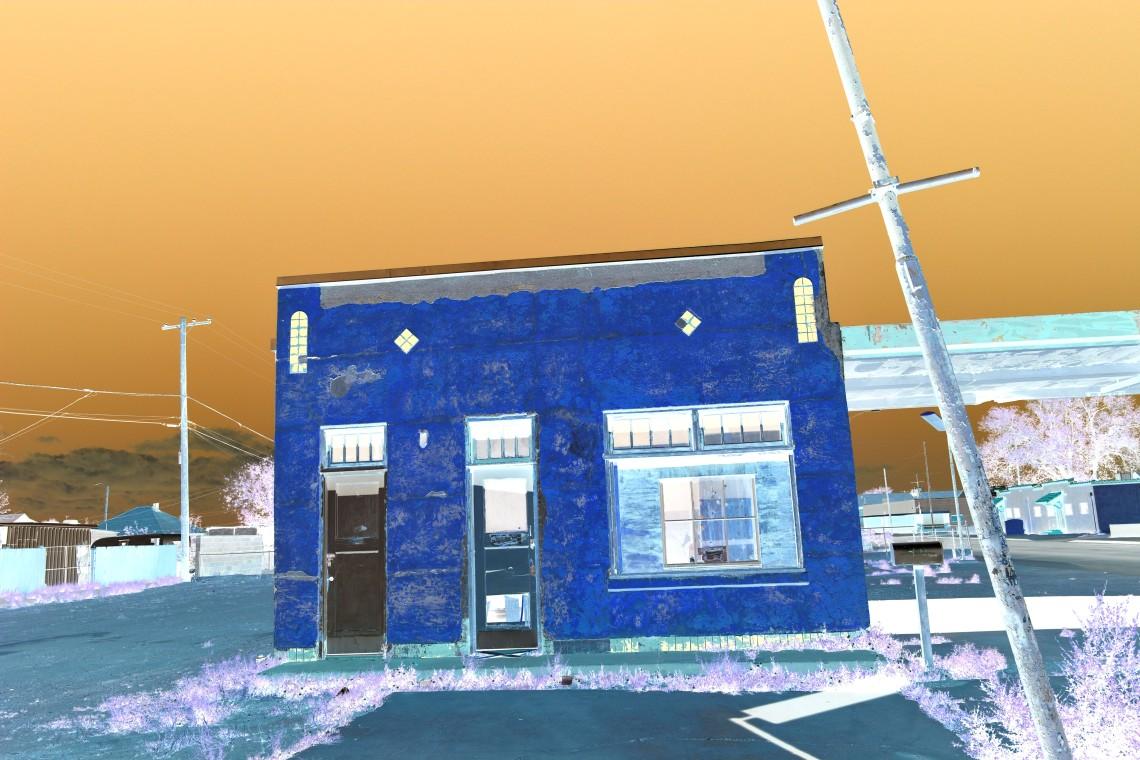 Winslow Yellow Building Linear burn invert copy